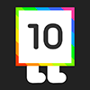 10 - 10 is an ADDICTIVE PUZZLE GAME made of numbers.