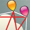 Balloon Tangle - Your balloons are all tangled up! Untangle them so they can fly away! This interesting logic game has many levels, an editor to create your own, and the possibility to share your levels with friends and over facebook!