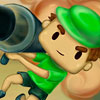 Bazooka Boy 2 - Part 2 of The Bazooka Boy game. Use the bazooka to destroy blocks. Solve some puzzles to get all of the golden blocks!
