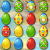 Easter Egg Slider - Slide the colorful Easter eggs in this beautiful match3 puzzle game! Match the egg on top of the queue to increase the multiplier and progress through the level.