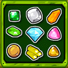 Gem Fusion - Combine gems into new gems in this strategic match 3 puzzle game! You have to place the gems on the board in a well chosen location. If you connect 3 or more of the same type, they fuse into another gem. Ultimately they will fuse into a red bonus gem, which you can collect to buy a hammer in the shop!