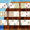Mexican Train Dominoes Gold - Slam down those dominoes and outwit your opponents in this fun, slick version of Mexican Train Dominoes. This game features multiple game lengths, 3 or 4 player modes and a variety of themes.