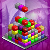 Qube 2 - Qube with an exciting Blitz mode! You have to strategically drop the blocks in the cube, to match 3 or more. Use the new power-ups to help you with this task!