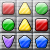 Shape Matcher - Swap the shapes to match 3 and clear all black squares to complete the level! There are 5 types of bombs that you can unlock by matching 5 or more shapes. You will need them to help you through difficult parts of the game. With 25 levels, this game has plenty of challenges for you!