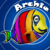 Archie - Help Archer Fish Archie through 50 levels of ocean themed, water shooting puzzles. Knock as many of the Color Balls down in a row as possible to string together incredible combos! The less shots you take to clear the level, the more bonus points you earn in the easy to learn - hard to master puzzle adventure!