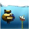 Bathyscaphe - Raise all a sunken ships from the bottom of the sea to the surface, physic-based game!