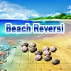Beach Reversi (aka Othello) - The popular game of reversi, also knows as othello, with beach views and sea sound.