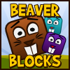 Beaver Blocks - Little beavers are separated from their family. Remove wooden blocks to help the return of the beavers to the safety nest, and avoid evil foxes. 24 levels of fun physics puzzles.