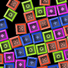 Blicko - Match same-colored groups of falling blocks in this funky physics game!
