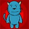 BluCat - Help the BluCat by feeding animals to each other in this cute block puzzle action game.