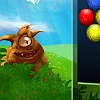 Bouncing Balls - Destroy the balls by shooting them into groups of 3. You must clear all the balls in order to proceed.