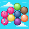 Bubble Sky - It is necessary to add three and more balls of one color together that they would be deleted from a game field, and you received game coins. Very addictive and fun!