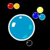 BubblePop - A simple yet addicting game where you must click to place a bubble on the screen, and get a specified number of bubbles to collide with the one you placed.