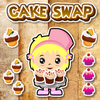 Cake Swap - Play this unlimited cute puzzle swap game :) Buy upgrades with your coins :)