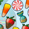 Candy Slider - Slide the yummy candies to match 3 or more! Fill the big candy before time is up, to get to the next level. But beware the chewing gums that lock your candies! To get out of a sticky situation, use the small candy buttons to remove all candies of that type.