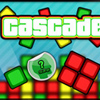 Cascade - Appearances can be deceptive. Don't be fooled by the seemingly easy methods with which you progress in this fun filled puzzle game... If you don't think about your clicks, you will pay for it later on!