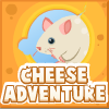 Cheese Adventure - Playing for a mouse get to the royal cheese. Breaking the barriers swipe the mouse across 20 interesting levels.