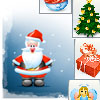 Christmas Matching - Click on matching tiles to score points and finish the 3 levels.