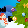 Christmas Tree 2010 - In this game you must decorate Christmas tree. You must decorate tree and not drop it. It's quite difficult because tree is bend from weight of toys.