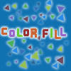 ColorFill - Play 18 levels of intensive addictive gameplay in this colorfull arcade flash game! You will have to fill 80% of the stage with colors while avoiding collisions with enemies.