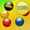 Colour Balls - In this game there will be a number of coloured balls with colour labels. You need to click the balls with the correct colour labels as quickly as possible. It may sound easy but the texts themselves also have colours and you may be confused. The faster you click, the higher your score.