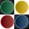 Corners - Get all matching colors in each of the four corners moving only two squares at a time.