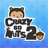 Crazy Go Nuts 2 - Crazy Go Nuts 2 packs even more squirrel blasting fun! Shoot your squirrel out of a cannon to collect as many nuts as you can. Collect stars, or hit birds and hidden baddies to boost your multiplier. You can even catch him on fire to clear out the board in one shot. Beat the target score to unlock more levels and progress. 