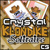 Crystal Klondike Solitaire - Howdy pardner!   Why don't you mosey on down here and take a look at this golden classic, 7-card 'Klondike' solitaire!  Sort the deck into suits on the home stacks, and see how many rounds you can clear in a row!  With three difficulty levels, you can play a nice gentle casual game, or try your hand on 'Expert' (using casino rules!) If you get stuck, just press the hint button! be warned - this game can be seriously addictive!