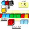 Cubes R Square - Colored cubes, cursed cubes, blasters, swappers - it's a cube world. Have fun playing around with a bunch of cubes through 15 different puzzles or enjoy a free scoring arcade mode.