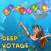 Deep Voyage - Beautiful mermaid sets off for her voyage in the depths of sea. Help her to win a royal garden design competition in an Underwater Kingdom. Her rivals in the contest are strong and it will be difficult to excel them. Complete exciting levels, solve puzzles, help mermaid to find all she needs to make your sea-garden perfect.