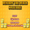 Destroy The Debts Solitaire - Destroy the debt blocks by making them contact with the money blocks of the same color. Watch out for the credit card blocks, as they will generate new debts.
