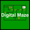 Digital Maze - You have to move the car to reach the goal before the time limit.