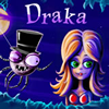 Draka - Draka is a mysterious dark creature, which looks like spider, who was awaken by some incautious person. Now he rocks the town by his notorious deeds, he bites people and they turn into spiders immediately. Draka has a plan to turn into spiders a certain amount of people, but the local citizens are already aware of him and are ready to take measures to stop him. Help Draka to accomplish his mission before he gets caught.