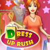 Dress Up Rush - Can you show me a woman who isn't fan of shopping? I don't know of any... And I am sure that every woman dreams about her own fashion boutique! Is your taste truly faultless? Are you ready to help customers make their choice, decide what suits them better, advise which color or style is the best for every customer? If you used to dream about it - this game will give you unforgettable pleasure! Your dream is coming true - now you have your own fashion boutique. Create your own world of fashion in the new game from Realore Studios - Dress Up Rush