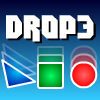 Drop3 - Match falling shapes in groups of 3 or more in this unique physics-puzzle game