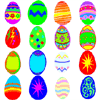 Easter Egg Match - Match the pairs of Easter eggs as quickly as you can.