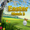 Easter - Match 3 - In this game your task is to create groups of 3 or more of the same colorful Easter eggs in a horizontal or vertical direction.