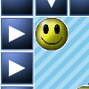 EmotiPleX - EmotiPleX is a strategic puzzle game consisting of various emoticons, arranged in strategic puzzles. In each challenge, the player must move the pieces around to eliminate matching groups emoticons. Each board must be cleared before proceeding to the next level. There are around 20 levels total. (includes a high-scores table)