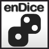 enDice - Every puzzle consists of several Dice. Each Die has a number on it representing how many moves it can make. Move each Die to the Outlined Zones with no moves remaining. While some Dice can be moved easily into the Zones, others will require more strategy.