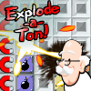 Explode-a-Ton - Rid the world of explosives, by blowing them up! This new action puzzle game is about detonation and racking up explosive combos!