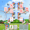 Ferris Wheel Solitaire - Ferris Wheel Solitaire is a new free online variation of the popular game patience by ArcadeGamePlace.com The object of the game is to place all cards from the tableau to the foundation. You can move two cards of the same rank. If there is no combination, turn over the top of the stock (it can be turned over only 3 times). There are 20 levels and bright high quality graphics that make this game even more addictive!