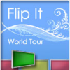 Flip It - Travel the world in this fast-paced puzzler! Visit 30 places on the map, and make a mirror image of colored tiles to complete each level. Start out slowly and advance your difficulty level as you progress. With 2 modes of play, 30 levels, and 3 difficulty levels, Flip It� is a whole world of puzzle fun! 
