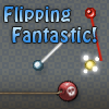 Flipping Fantastic! - Flip and spin on pegs with your wand through the field of obstacles. Object of the game is to arrive safely to the goal peg and gain as many bonus points within the time given. There are 25 levels with 3 different modes of difficulty Easy, Normal and Hard. It would just be Flipping Fantastic if you could beat all the levels and get the highest score possible