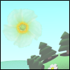Flowers rain - Catch flowers. The real physic simple puzzle game.