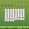 Freecell Solitaire - Move all the cards to the foundation (the top right piles). The foundation cards must have the same suit and in ascending order. You can put a card to the tableau cards (the middle piles) if the tableau pile is empty or if the card is one point smaller than the top card and they have different colors. You can put any card to the cells (the top left places).