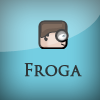 Froga - Help the Froga head reach to the door.
