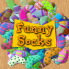 Funny Socks - A simple game like the spillikins. Pick up the similar socks piling them on top of each other.