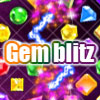 Gem Blitz - Gem Blitza new way to match Gem.---Gem blitz. Connect two diamonds, which are same in shape and colour, with no more than three lines to make them offset each others. If you link another pair within two minutes, you make a double-offset.
