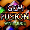 Gem Fusion - Wind Edition - Enter the world of Gem Fusion a unique match 3 experience, In Wind Edition attempt to match three colored alike Gems in either Horizontal, Vertical or Diagonal lines while the cave winds shift the stack from left to right. New bricks appear as your skill level increases!