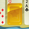 Gold Solitaire - Gold solitaire allow you to plunge into the game, which has won the hearts of many people around the world! And the original innovations fulfill the game